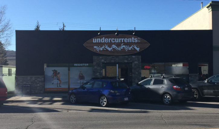 Front view of the Undercurrents Shop