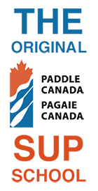 Paddle Canada SUP School graphic.