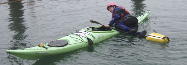 Take a kayak rescue course with Undercurrents.