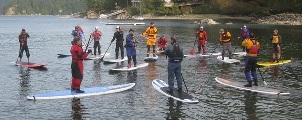 Take a SUP course with Undercurrents!